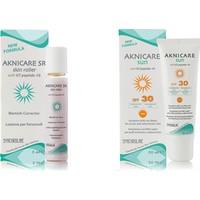 Aknicare Sr Skin Roller, 5 Ml, 50 Ml+Aknicare Sun Spf 30, 50 Ml