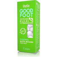 Delıa Good Foot Fızzıng Bath Bombs 12Pcs