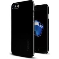 Spigen Apple iPhone 7 Kılıf Thin Fit Jet Black 042CS20845