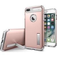 Spigen Apple iPhone 8 Plus - iPhone 7 Plus Kılıf Slim Armor Rose Gold 043CS20311