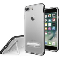 Spigen Apple iPhone 8 Plus - iPhone 7 Plus Kılıf Crystal Hybrid Black 043CS20680