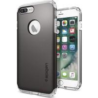 Spigen Apple iPhone 7 Plus Kılıf Hybrid Armor Gunmetal 043CS20697