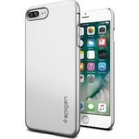 Spigen Apple iPhone 7 Plus Kılıf Thin Fit Satin Silver 043CS20735