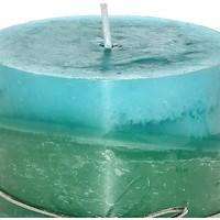 Mum Mavi-Yeşil Renk 8X10 Cm