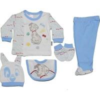 Nenny Baby 5 Li Hastane Çıkışı T-718 Mavi