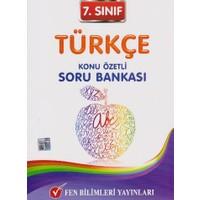 Fen Bilimleri Yayınları 7. Sınıf Türkçe Konu Özetli Soru Bankası