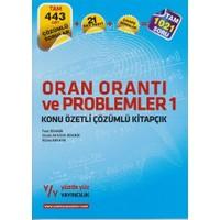 Yüzde Yüz Yayıncılık Oran Orantı Ve Problemler 1 Konu Özetli Çözümlü Kitapçık