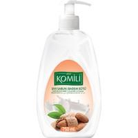 Komili Sıvı Sabun Badem Sütü 750 Ml Beyaz