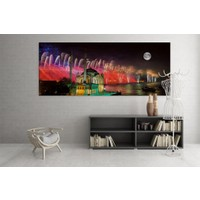 Grafizm - Led Işıklı Kanvas Tablolar LD-133