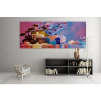 Grafizm - Led Işıklı Kanvas Tablolar LD-166