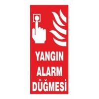 """Modülerteknik """"Yangın Alarm Düğmesi"""" 10X25cm"""