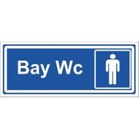 """Modülerteknik """"Wc Bay"""" 10X25cm"""