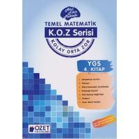 Özet Yayınları K.O.Z Serisi Ygs Matematik 4