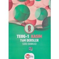 Kida Yayınları 8. Sınıf Teog-1 Tüm Dersler Soru Bankası