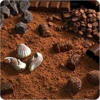Fotografyabaskı Çikolata Özü Bardak Altlığı Baskı 4'lü Set