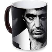 Fotografyabaskı Al Pacino Sihirli Siyah Kupa Bardak Baskı