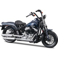 Maisto Harley Davidson 2008 FLSTSB Cross Bones 1:18 Model Motorsiklet