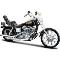 Maisto Harley Davidson 1997 FXDWG Dyna 1:18 Model Motorsiklet