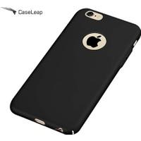 Case Leap İphone 6/6S Tam Korumalı Rubber Kılıf Siyah