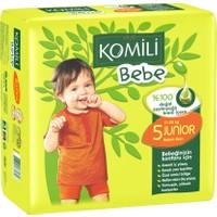 Komili Bebe Bebek Bezi 5 Beden İkiz Paket 23 Adet