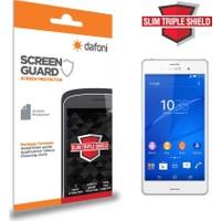 Dafoni Sony Xperia Z3 Ultra Slim Triple Shield Ekran Koruyucu