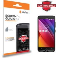 Dafoni Asus ZenFone Go ZC500TG Slim Triple Shield Ekran Koruyucu
