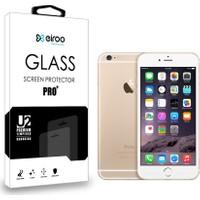 Eiroo iPhone 6 Plus / 6S Plus Tempered Glass Ön + Arka Cam Ekran Koruyucu