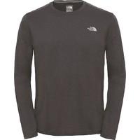 The North Face - Reaxion Amp L/S Crew - Eu Erkek Sweatshirt (fw17)