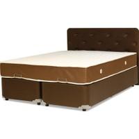 Tabba Buse Çift Kişilik Yatak Baza Başlık Set 160x200