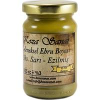 Koza Ebru Boyası - Ezilmiş Boya Oksit Sarı 105 Cc