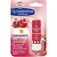 Golden Rose Lip Balm Pomegranate Spf 15