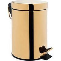 Bocchi Çöp Kovası, Pedallı 5Lt Altın