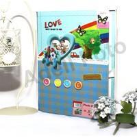 Aile Fotoğraf Albümü 40 Sayfa Manyetik Yapışkanl (KUTULU)
