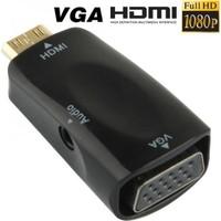 Kaliteli ve Garantili HDMI dan VGA + Ses Dönüştürücü