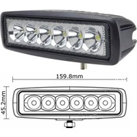 Ducki 6inc Led 18W Spot