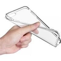Angel Eye iPhone 5S İnce Silikon Koruyucu Arka Kılıf Şeffaf