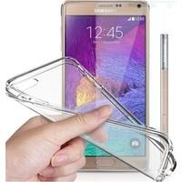 Angel Eye Samsung Galaxy Note 2 Kırılmaz Cam Ekran Koruyucu + Şeffaf Silikon Kılıf