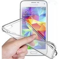 Angel Eye Samsung Galaxy S7 Kırılmaz Cam Ekran Koruyucu + Şeffaf Silikon Kılıf