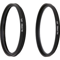 Canon 24-70mm f/2.8L Lens için HLYPRO UV Filtre + Polarize Filtre