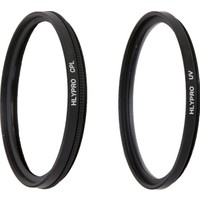 Canon 24-105mm f/4L Lens için HLYPRO UV Filtre + Polarize Filtre