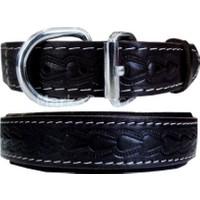 Doggie Deri Köpek Tasması Siyah 2 cm*45 cm