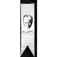 Ekin Bayrakçılık Kırlangıç Bayrak Atatürk Resmi 50x200cm.
