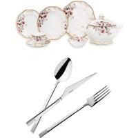 Emsan Luxury Bone Rosaline 168 Parça Çeyiz Seti