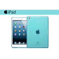 Toptancı Kapında iPad Pro 9,7 İnç Mavi Silikon Kılıf