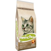 Micho Tavuklu (Hamsi ve Pirinç eşliğinde) Yetişkin Kedi Maması 1Kg