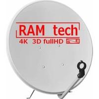 Ramtech 90 Cm Çanak Anten ve Montaj Ayağı