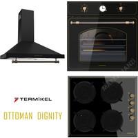 Termikel Ottoman Dignity 3Lü Ankastre Set (Bo R6526B -Bh R6145 B-Gardenya Bb 60 Rs)