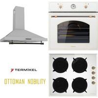 Termikel Ottoman Nobility 3Lü Ankastre Set (Bo R6526W - Bh R6145 W - Gardenya Ww60 Rs)