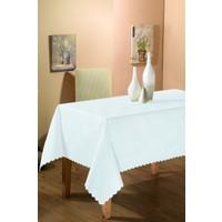 Helen's Dertsiz Masa Örtüsü Beyaz