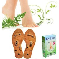 Hergunyeni Bio Shoes Ayak Kokusu Giderici ve Mıknatıslı Manyetik Ayak Masaj Tabanlığı